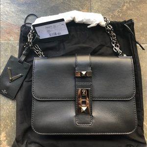3cbe7a29428 Valentino. Authentic NWT Valentino Rockstud Shoulder Bag